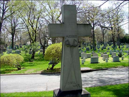 Arlington Cemetary - Civil War Cross